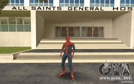 Skins from Spider-Man para GTA San Andreas