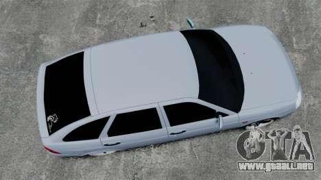 FBI Vaz-2172 para GTA 4 visión correcta