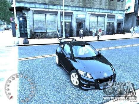 Honda Mugen CR-Z para GTA 4 left