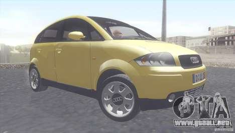Audi A2 para GTA San Andreas left