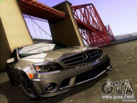 Mercedes-Benz C36 AMG para el motor de GTA San Andreas