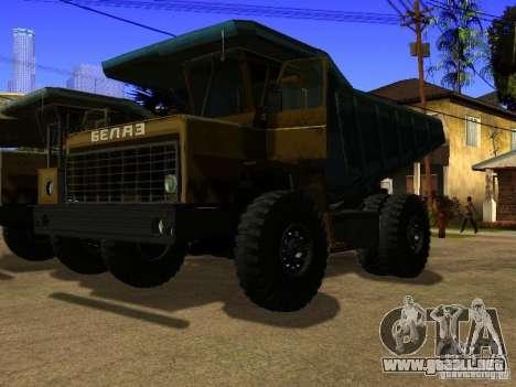 BELAZ 540 para GTA San Andreas
