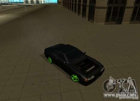 Elegy Green Drift para la visión correcta GTA San Andreas