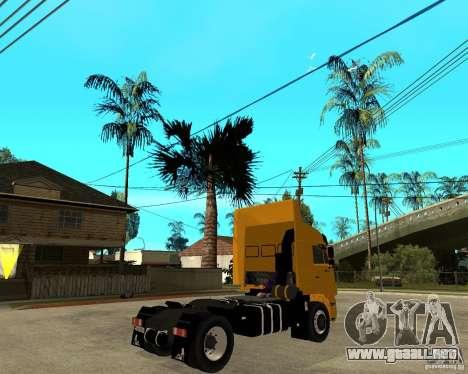 KAMAZ 5460M TAI versión 1.5 para GTA San Andreas vista posterior izquierda