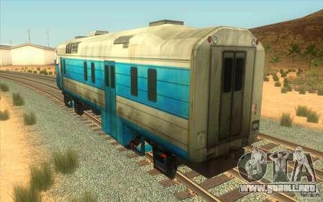 Un tren del juego Half-Life 2 para la visión correcta GTA San Andreas