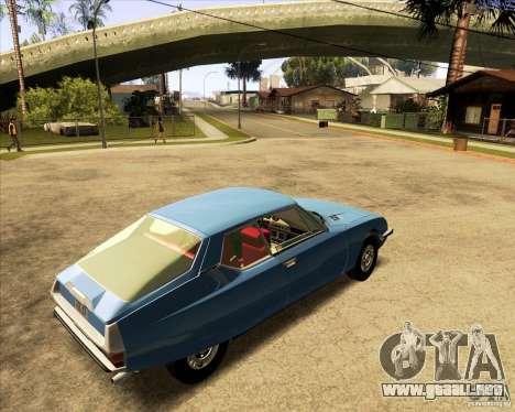 Citroen SM 1971 para GTA San Andreas left