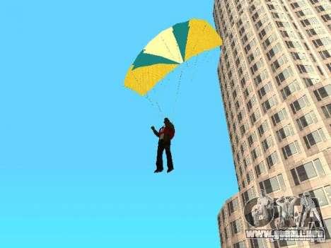 Paracaídas del TBOGT para GTA San Andreas