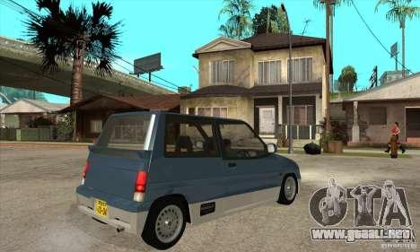 Suzuki Alto Works para la visión correcta GTA San Andreas