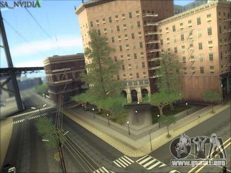 SA_NVIDIA v1.0 para GTA San Andreas quinta pantalla