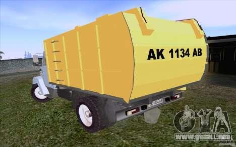 Camión ZIL 4331 para la visión correcta GTA San Andreas