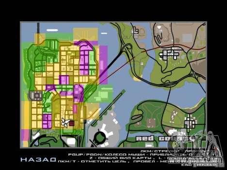 San Fierro and Los Santos Gang Zone para GTA San Andreas segunda pantalla