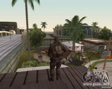 Alex Mason para GTA San Andreas segunda pantalla