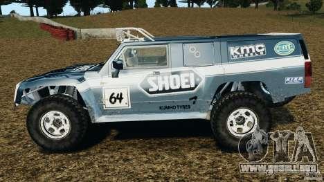 Hummer H3 raid t1 para GTA 4 left