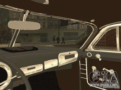 Hudson Hornet 1952 para GTA San Andreas vista hacia atrás