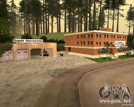 Priparkovanyj transporte v1.0 para GTA San Andreas sexta pantalla
