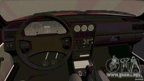 Audi Sport quattro 1983 para GTA San Andreas vista hacia atrás