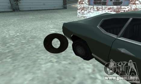 Neumáticos para la visión correcta GTA San Andreas