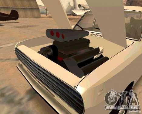 GAZ Volga 2410 caliente Road para GTA San Andreas interior