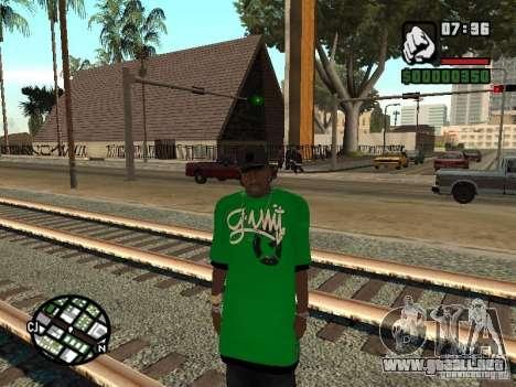 reemplazo de la piel 3 Cj para GTA San Andreas tercera pantalla