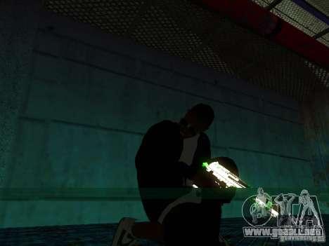 Nuevo Ballas gruesa para GTA San Andreas tercera pantalla