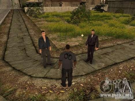 MAFIA Gang para GTA San Andreas sucesivamente de pantalla