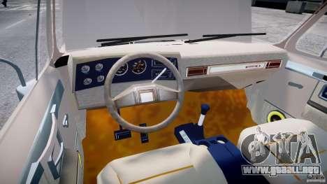 Chevrolet Blazer K5 Stock para GTA 4 vista hacia atrás