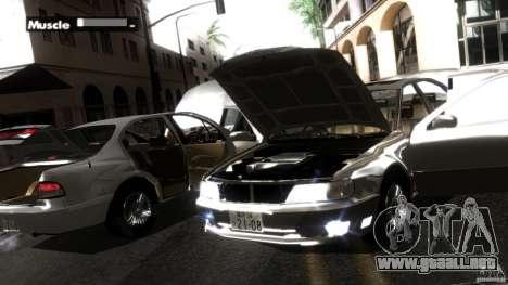 Nissan Cefiro A32 Kouki para GTA San Andreas interior