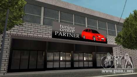 Estructura de garajes y edificios en SF para GTA San Andreas tercera pantalla
