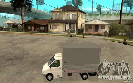 Mercedes-Benz Sprinter Truck para GTA San Andreas left