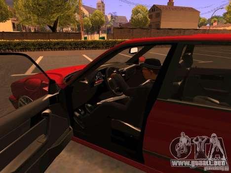 BMW M5 E34 para la vista superior GTA San Andreas