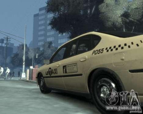 Chevrolet Impala 2003 Taxi para GTA 4 vista superior