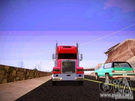 Freightliner FLD 120 para visión interna GTA San Andreas