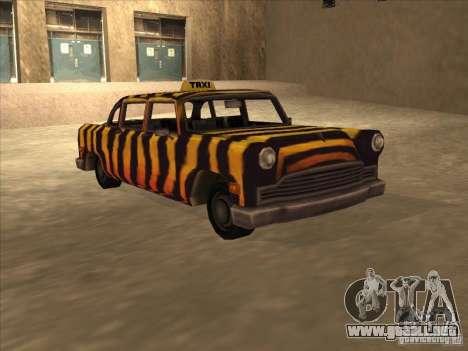 Taxi cebra de Vice City para GTA San Andreas