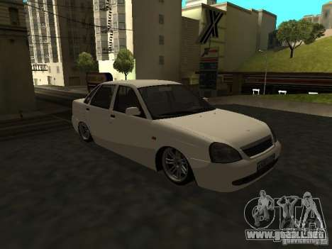Lada 2170 Priora para GTA San Andreas left
