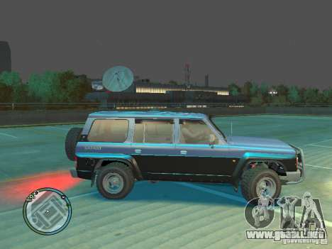 Nissan Safari 1992 para GTA 4 left