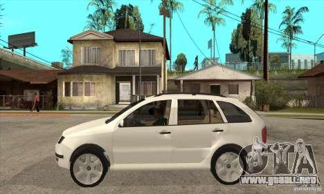 Skoda Fabia Combi para GTA San Andreas left
