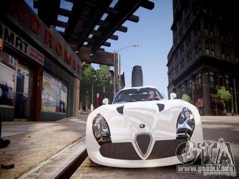 Alfa Romeo TZ3 Stradale Zagato para GTA 4 vista lateral