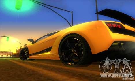 ENB Graphics by KINOman para GTA San Andreas séptima pantalla