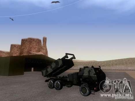 M142 HIMARS Artillery para GTA San Andreas