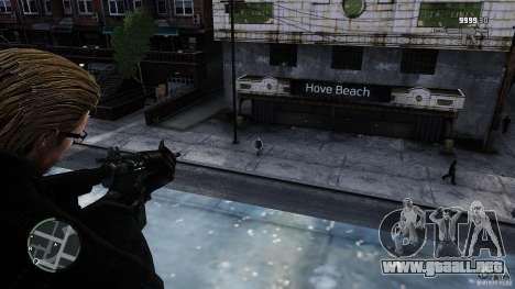 RE5 Wesker para GTA 4 quinta pantalla