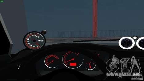 Mitsubishi Lancer Evolution 8 Drift para vista lateral GTA San Andreas