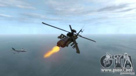 AH-64D Longbow Apache v1.0 para GTA 4 visión correcta