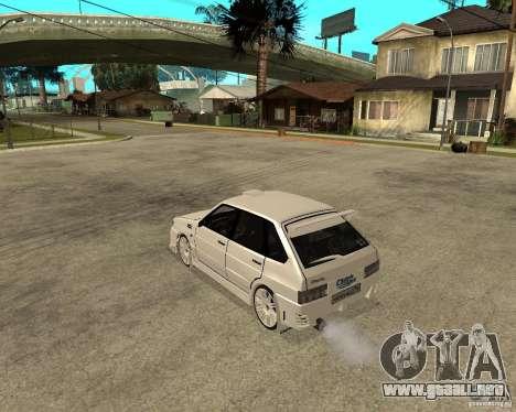 ВАЗ 2114 Mechenny para GTA San Andreas left