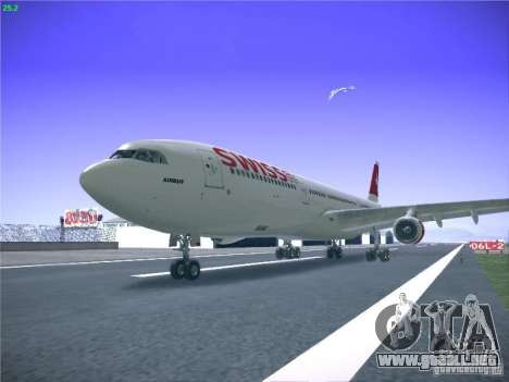 Airbus A340-300 Swiss International Airlines para GTA San Andreas
