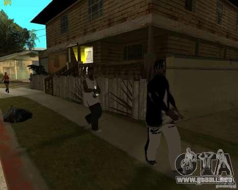 En najke Grove para GTA San Andreas quinta pantalla