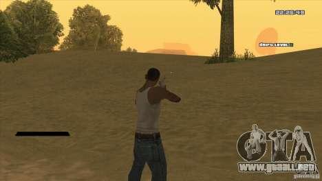 El punto en lugar de la vista para GTA San Andreas segunda pantalla