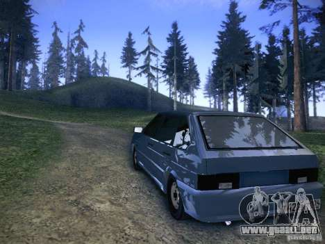 ВАЗ 2114 para GTA San Andreas interior