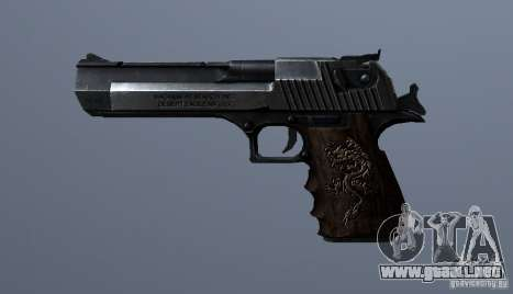 Desert Eagle - Old model para GTA San Andreas tercera pantalla