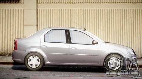 Dacia Logan v1.0 para GTA 4 vista lateral