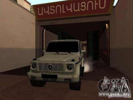 Mercedes-Benz G500 Kromma 1480 para visión interna GTA San Andreas